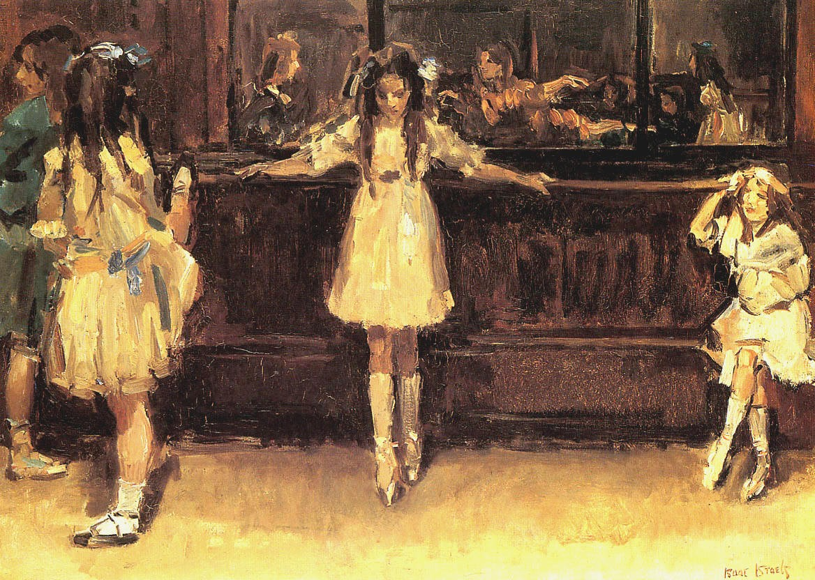Ballet School in London, Isaac Israels